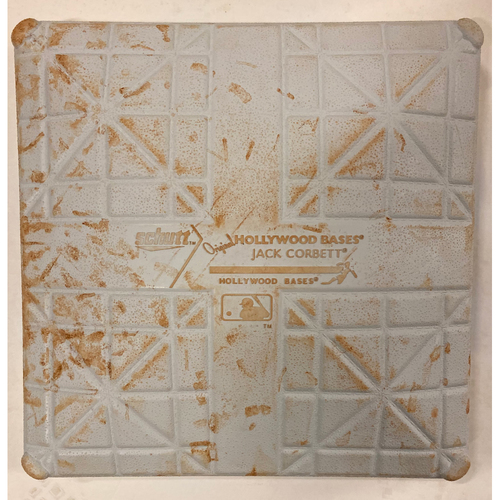 Photo of 2019 NLDS Game Used Base - Third Base Used During 8th and 9th Inning - 10/9/19 - Cardinals Clinch