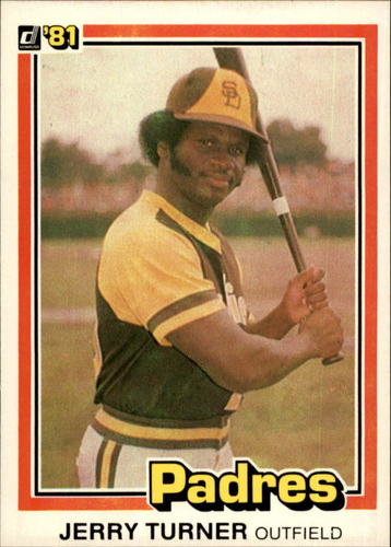 Photo of 1981 Donruss #244 Jerry Turner