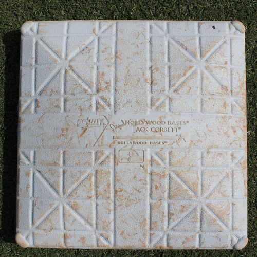 Photo of Game-Used 3rd Base: Jorge Soler 46th Home Run of 2019 Season (Innings 1-5 - MIN @ KC - 9/28/19)