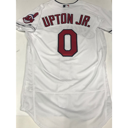 Photo of Melvin Upton Jr. Team Issued 2018 Home Jersey