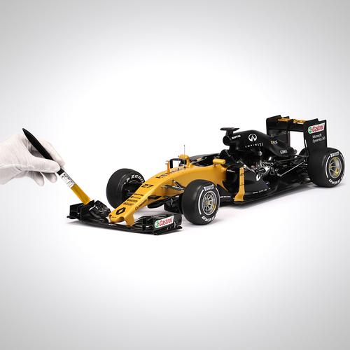 Photo of Renault DP World F1 Team 2017 1:8 Scale Cutaway Model F1® Car