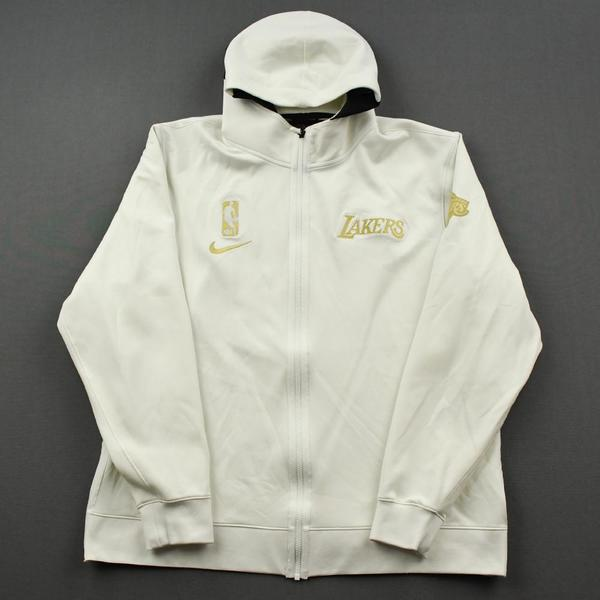 Image of Jared Dudley - Los Angeles Lakers - Game-Worn Opening Night / Championship Ring Ceremony Jacket - 2020-21 NBA Season