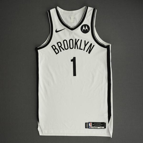 Image of Bruce Brown - Brooklyn Nets - Game-Worn Association Edition Jersey - 2021 NBA Playoffs