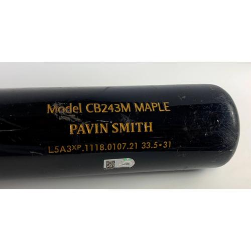Photo of Pavin Smith Game-Used Broken Bat Fielder's Choice vs. Jacob deGrom - Mets @ D-backs 5/31/2021