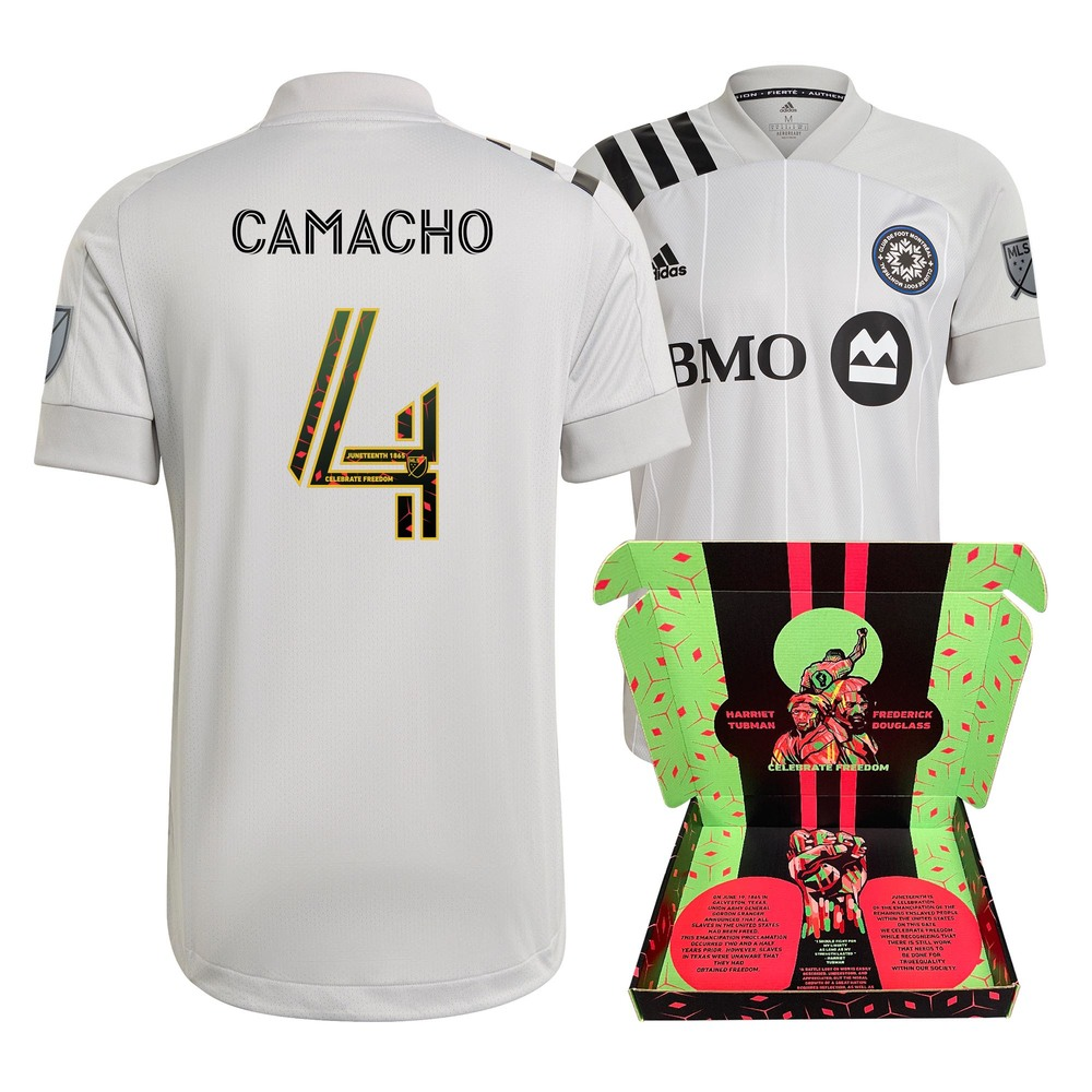 Rudy Camacho CF Montreal Player-Issued & Signed
