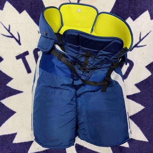 #22 Zach Bogosian Worn Hockey Pants (Warrior XL)