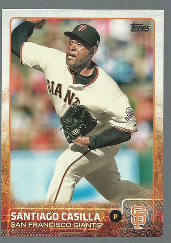 Photo of 2015 Topps #156 Santiago Casilla