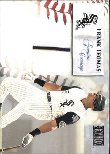 Photo of 2000 SkyBox Genuine Coverage #8 Frank Thomas H