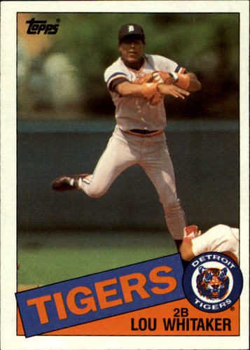 Photo of 1985 Topps #480 Lou Whitaker