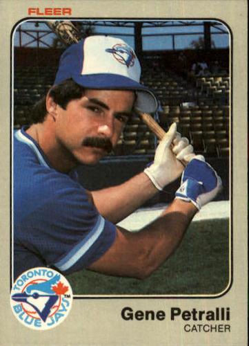 Photo of 1983 Fleer #439 Geno Petralli