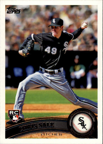 Photo of 2011 Topps #65 Chris Sale  Rookie Card