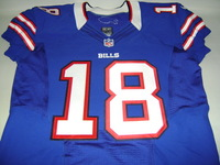 BILLS - PERCY HARVIN SIGNED AUTHENTIC BILLS JERSEY - SIZE 46