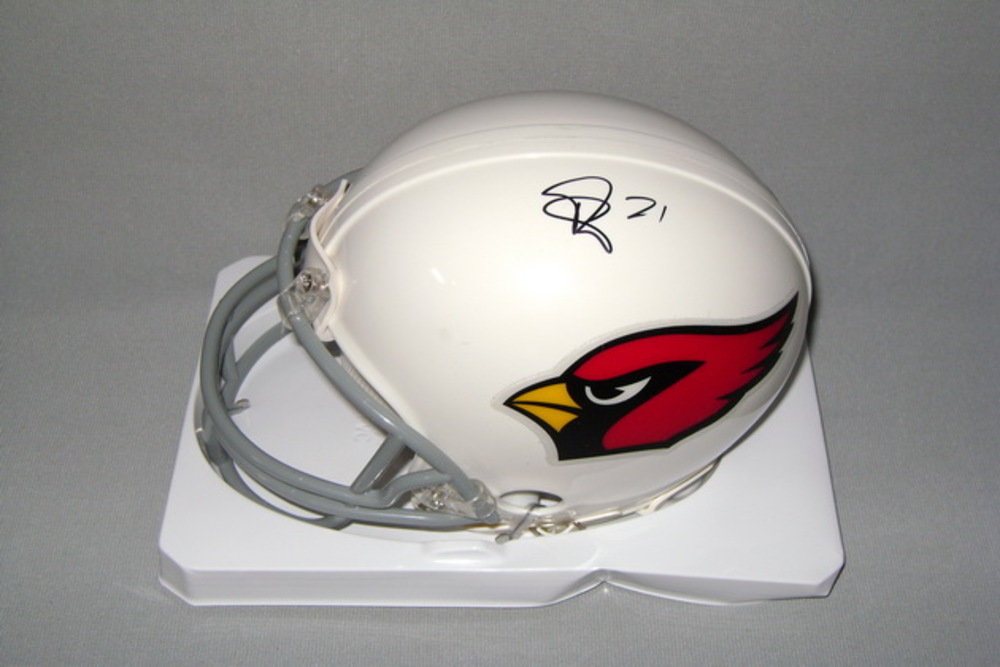 NFL - CARDINALS PATRICK PETERSON SIGNED CARDINALS MINI HELMET