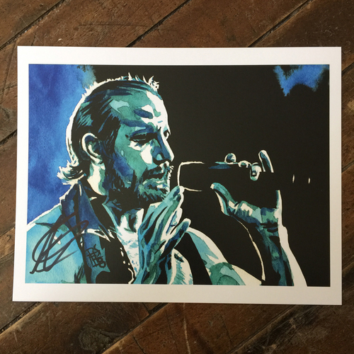Aiden English SIGNED 11 x 14 Rob Schamberger Print