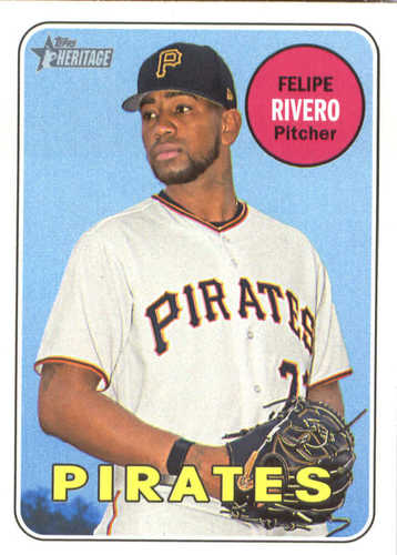 Photo of 2018 Topps Heritage #354 Felipe Rivero