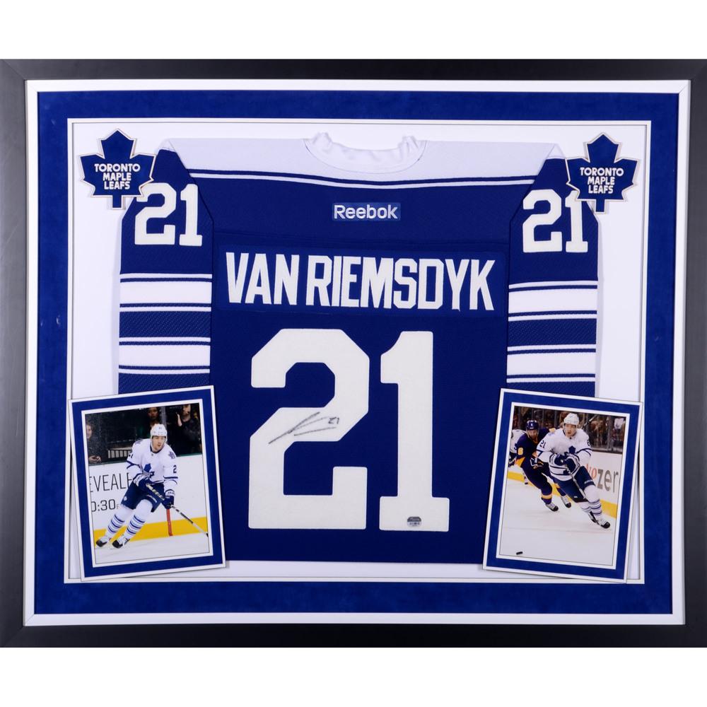 meet 05149 8d6c2 James van Riemsdyk Toronto Maple Leafs Autographed Deluxe ...