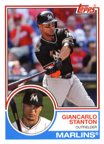 Photo of 2015 Topps Archives #235 Giancarlo Stanton