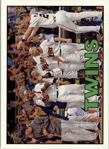 Photo of 2016 Topps Heritage #350 Minnesota Twins