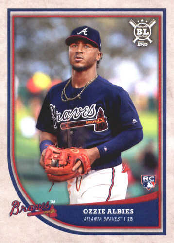 Photo of 2018 Topps Big League #48 Ozzie Albies Rookie Card
