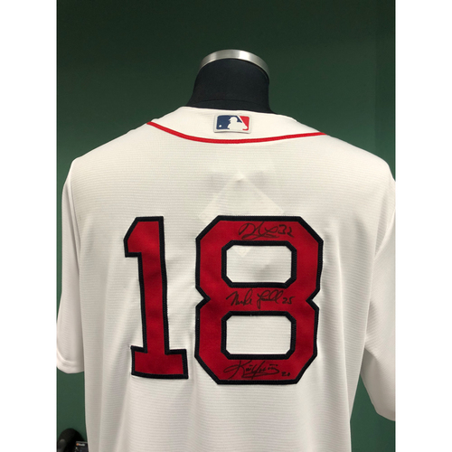 Photo of Red Sox Foundation - 2018 Red Sox Hall of Fame Autographed Jersey - Not MLB Authenticated
