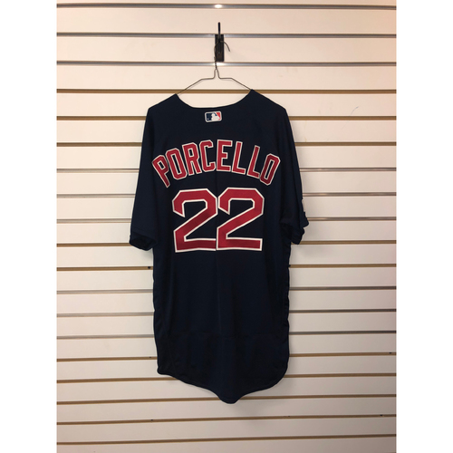 Photo of Rick Porcello Team-Issued 2017 Road Alternate Jersey