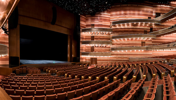 ECCLES THEATER EXPERIENCE IN SALT LAKE CITY