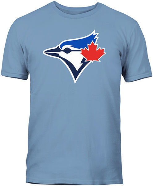 Toronto Blue Jays Secondary Logo Blue T-Shirt by Bulletin