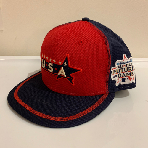 Photo of 2014 All Star Futures Game -  Game Used Cap  - Hunter Harvey (Baltimore Orioles) Size - 7 -1/4