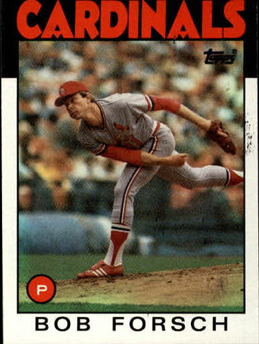 Photo of 1986 Topps #322 Bob Forsch