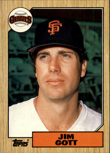 Photo of 1987 Topps Traded #39T Jim Gott