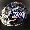 NFL - 2019 NFL Draft Multi-Signed Helmet Featuring 22 signatures (Inc Kyler Murray, Nick Bosa, Quinnen Williams, DK Metcalf, Josh Jacobs)