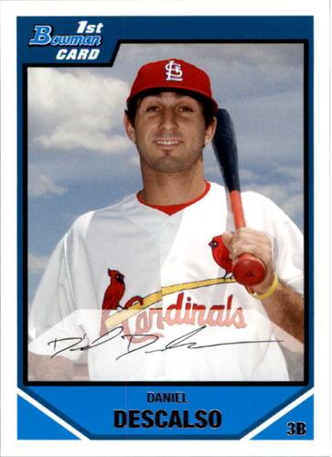 Photo of 2007 Bowman Draft Draft Picks #BDPP42 Daniel Descalso