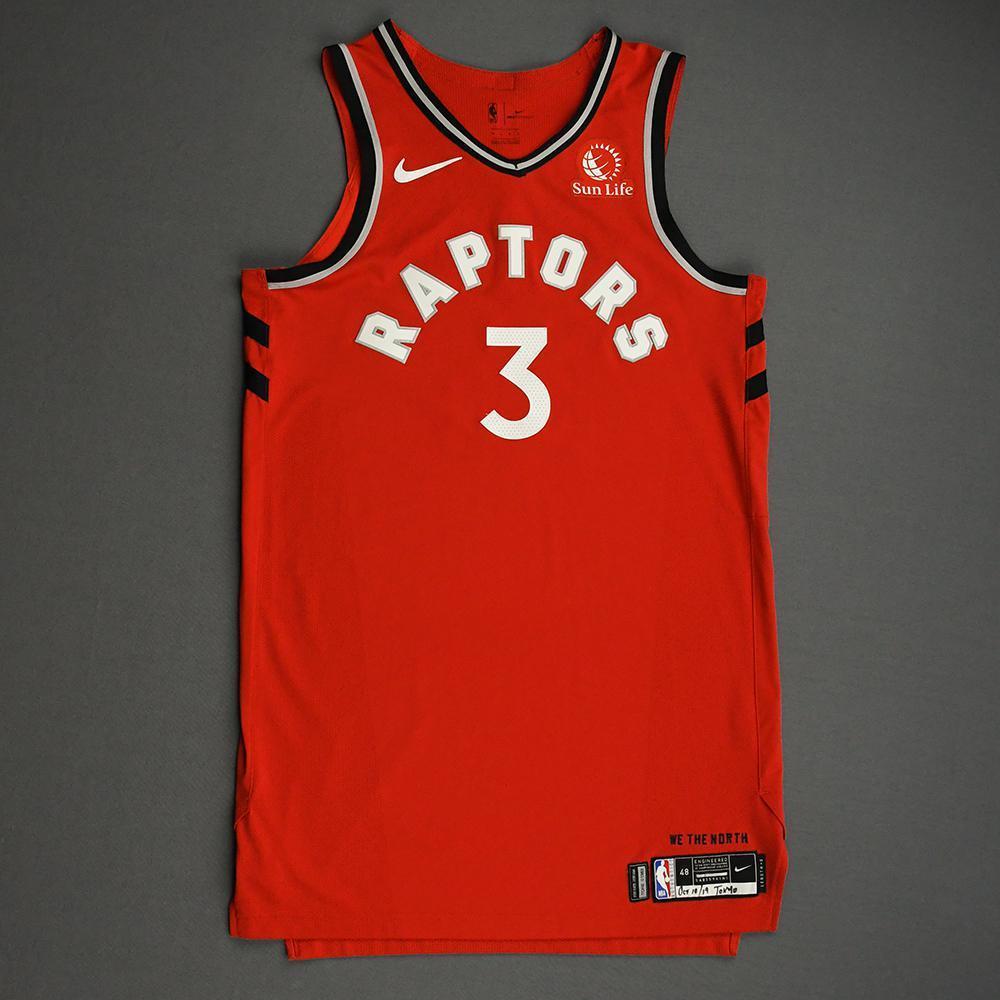 OG Anunoby - Toronto Raptors - Game-Worn Icon Edition Jersey - NBA Japan Games - 2019-20 NBA Season