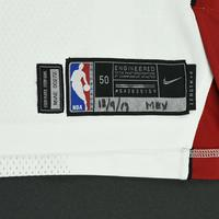 Udonis Haslem - Miami Heat - NBA Mexico Games - Game-Worn Association Edition Jersey - Dressed, Did Not Play - 2017-18 NBA Season