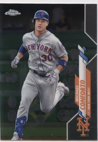 Photo of 2020 Topps Chrome #35 Michael Conforto