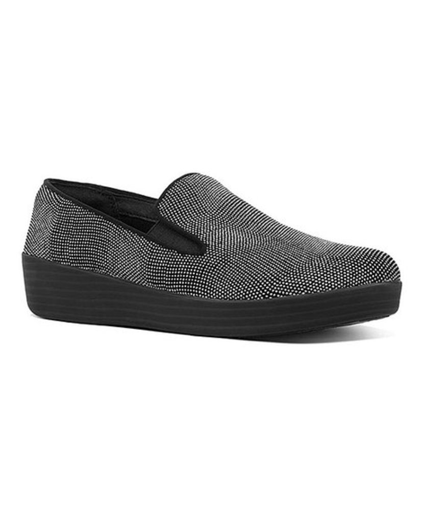 Photo of FitFlop Glitter-Dot Suede Loafers