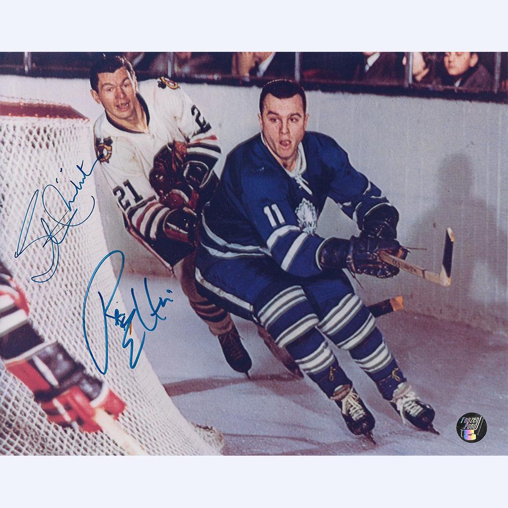 Ron Ellis & Stan Mikita Autographed 8X10 Combo Photo