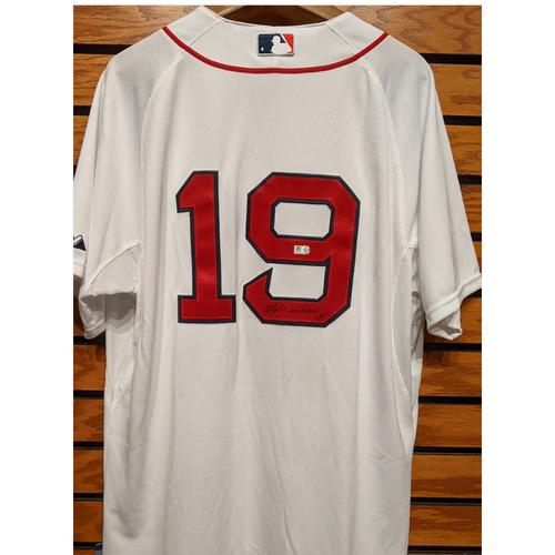 Koji Uehara #19 Autographed Home White Jersey