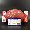 NFL - Colts Jack Doyle Signed Authentic Football W/ 100 Seasons Logo
