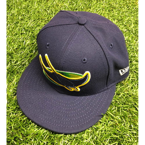 Photo of Team Issued Devil Rays Cap: Brent Honeywell #45