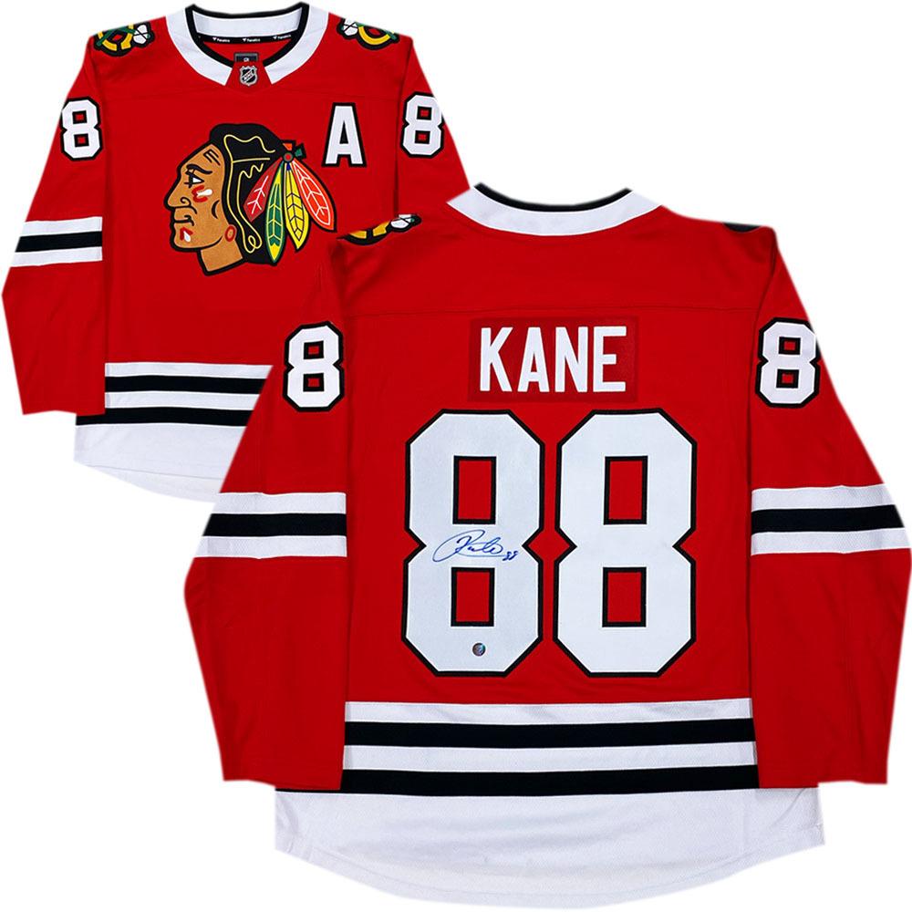 Patrick Kane Autographed Chicago Blackhawks Fanatics Jersey
