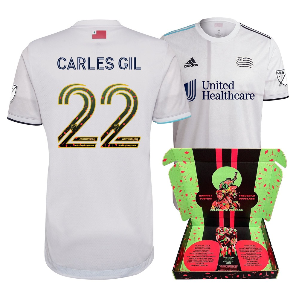 Carles Gil New England Revolution Match-Used & Signed