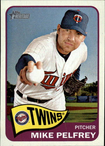 Photo of 2014 Topps Heritage #315 Mike Pelfrey