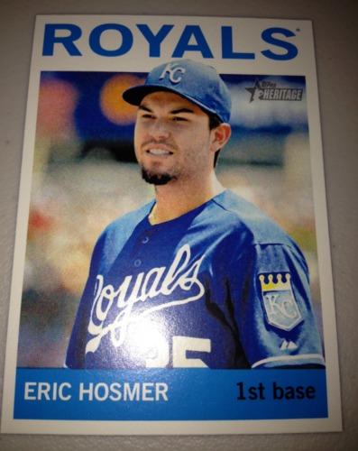 Photo of 2013 Topps Heritage #492 Eric Hosmer SP