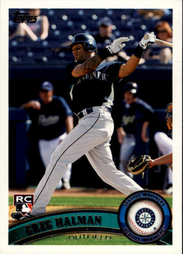 Photo of 2011 Topps #83 Greg Halman RC