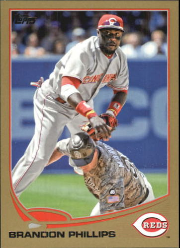 Photo of 2013 Topps Gold #386 Brandon Phillips