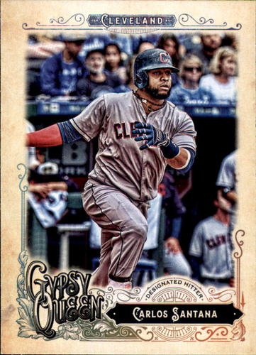 Photo of 2017 Topps Gypsy Queen #293 Carlos Santana