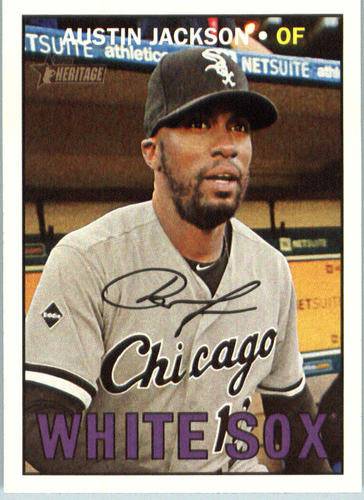 Photo of 2016 Topps Heritage #511 Austin Jackson