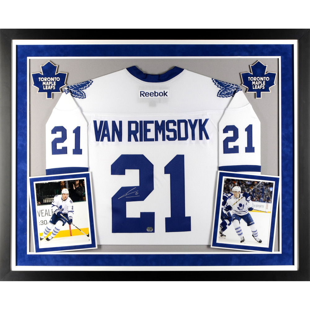 James van Riemsdyk Toronto Maple Leafs Deluxe Framed Autographed ...