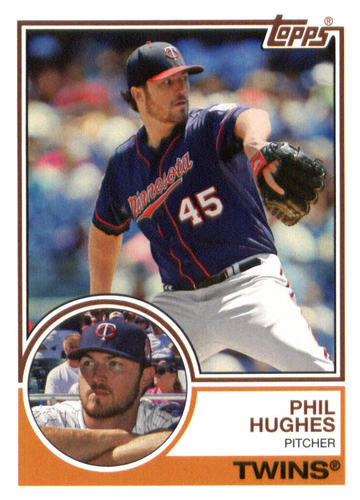 Photo of 2015 Topps Archives #243 Phil Hughes
